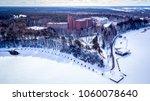 sanatorium sibir  tyumen | Shutterstock . vector #1060078640