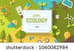 environmental protection ... | Shutterstock .eps vector #1060082984