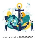 vector business illustration ... | Shutterstock .eps vector #1060098800