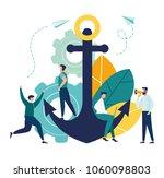 vector business illustration ... | Shutterstock .eps vector #1060098803