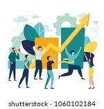 vector business illustration ... | Shutterstock .eps vector #1060102184