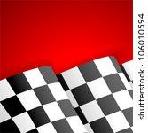 concept   winner. racing... | Shutterstock .eps vector #106010594