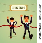 happy smiling businessman... | Shutterstock .eps vector #1060108334