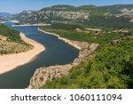 amazing landscape of arda river ...   Shutterstock . vector #1060111094