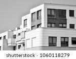 facade of a modern apartment... | Shutterstock . vector #1060118279