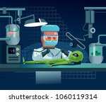 scientist doctor man character... | Shutterstock .eps vector #1060119314