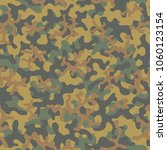 camouflage pattern. seamless.... | Shutterstock .eps vector #1060123154