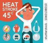 symptom and prevention health...   Shutterstock .eps vector #1060138010