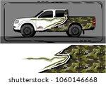 modern truck graphic. abstract... | Shutterstock .eps vector #1060146668