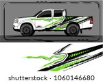 modern truck graphic. abstract... | Shutterstock .eps vector #1060146680