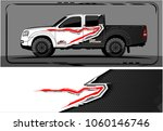 modern truck graphic. abstract...   Shutterstock .eps vector #1060146746