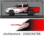 modern truck graphic. abstract... | Shutterstock .eps vector #1060146788
