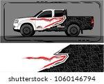 modern truck graphic. abstract... | Shutterstock .eps vector #1060146794