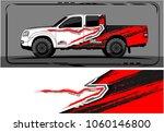 modern truck graphic. abstract... | Shutterstock .eps vector #1060146800