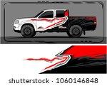 modern truck graphic. abstract... | Shutterstock .eps vector #1060146848