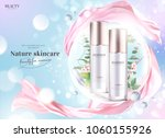 cosmetic product ads  essence... | Shutterstock .eps vector #1060155926
