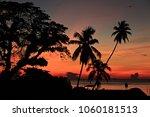 beautiful sunrise saphli beach...   Shutterstock . vector #1060181513