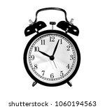 photo round  old  antique black ... | Shutterstock . vector #1060194563