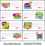 best sale with huge discount...   Shutterstock .eps vector #1060197404
