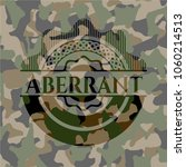aberrant on camouflage texture | Shutterstock .eps vector #1060214513