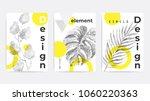 universal trend poster... | Shutterstock .eps vector #1060220363