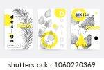 universal trend poster... | Shutterstock .eps vector #1060220369