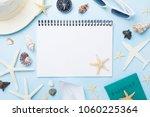 planning summer holidays ... | Shutterstock . vector #1060225364