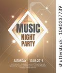 luxury party vector design... | Shutterstock .eps vector #1060237739