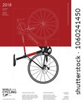 cycling poster vector... | Shutterstock .eps vector #1060241450