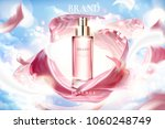 cosmetic essence ads  exquisite ... | Shutterstock .eps vector #1060248749