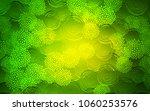 Light Green Vector Doodle...