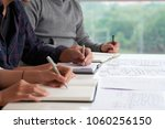 close up shot of young managers ...   Shutterstock . vector #1060256150