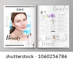 skin care magazine  cosmetic...