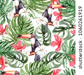 beautiful watercolor pattern...   Shutterstock . vector #1060261919