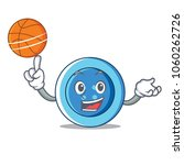 with basketball clothing button ... | Shutterstock .eps vector #1060262726