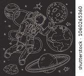 vector illustration  sketch... | Shutterstock .eps vector #1060265360