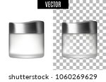 3d white realistic cosmetic... | Shutterstock .eps vector #1060269629
