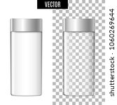 3d white realistic cosmetic... | Shutterstock .eps vector #1060269644