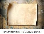 Antique Blank Parchment Paper...