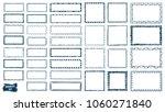 doodles set. scribble... | Shutterstock .eps vector #1060271840