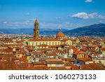 view across the terracotta roof ... | Shutterstock . vector #1060273133