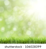 abstract green natural... | Shutterstock . vector #106028399