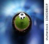 360 degree view of soccer ball...   Shutterstock . vector #1060288019