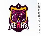 colorful logo  badge  sticker ... | Shutterstock .eps vector #1060295228