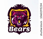 colorful logo  badge  sticker ... | Shutterstock .eps vector #1060295234