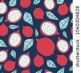 seamless pattern with bright... | Shutterstock .eps vector #1060304828