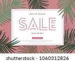 sale ads for poster banner... | Shutterstock .eps vector #1060312826
