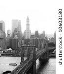 A Shot Of The Brooklyn Bridge...