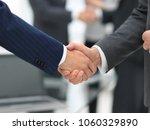 business partners handshaking... | Shutterstock . vector #1060329890