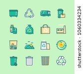 set of garbage related vector...   Shutterstock .eps vector #1060334234